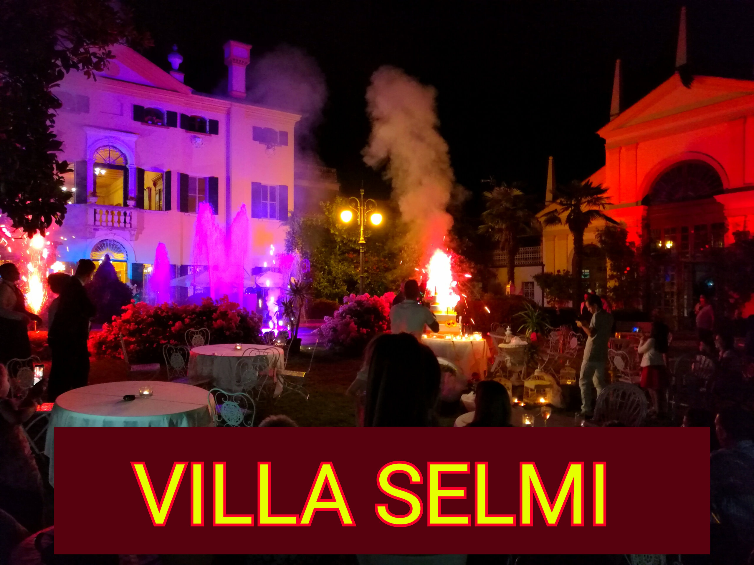 LOCATION EVENTI ITALIA VILLA SELMI
